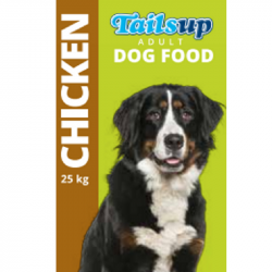 Jock Tailsup with Chicken